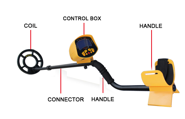 New Arrival Underground Metal Detector MD-3010II Gold Digger Treasure Hunter MD3010II md 3010ii lcd back light display underground metal detector treasure hunter hobby upgraded metal detectors md3010ii