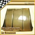 Car-styling For Mitsubishi Evolution EVO 7 8 9 Carbon Fiber Under Rear Diffuser (69cm x 76cm)