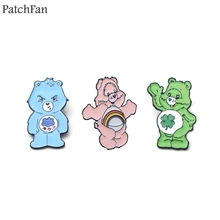 Patchfan Care bears Zinc Pins A New Generation para Shirt Coat insignia Clothes backpack diy metal Jewelry Badges Brooches A0845