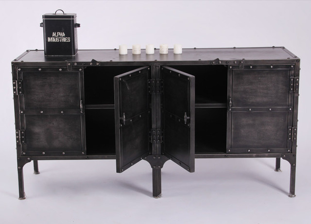 Mobili Credenza Ikea : Nordic ikea ferro credenza cassetti armadio di stoccaggio