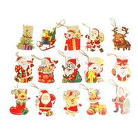 240 Pcs Christmas Greeting Wish Cards For Xmas Tree Pendant Hanging Ornaments 11 8