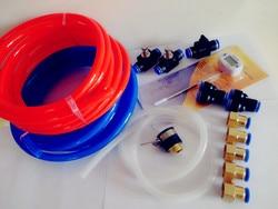 شحن مجاني جديد مجموعة من نظام مياه التبريد للمنزل تختمر ، هوائي أجزاء و خراطيم