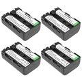 Batmax 4 шт. батареи NP-FM500H NP FM500H NPFM500H батарея для Sony Alpha SLT A57 A65 A77 A99 A350 A550 A580 A900