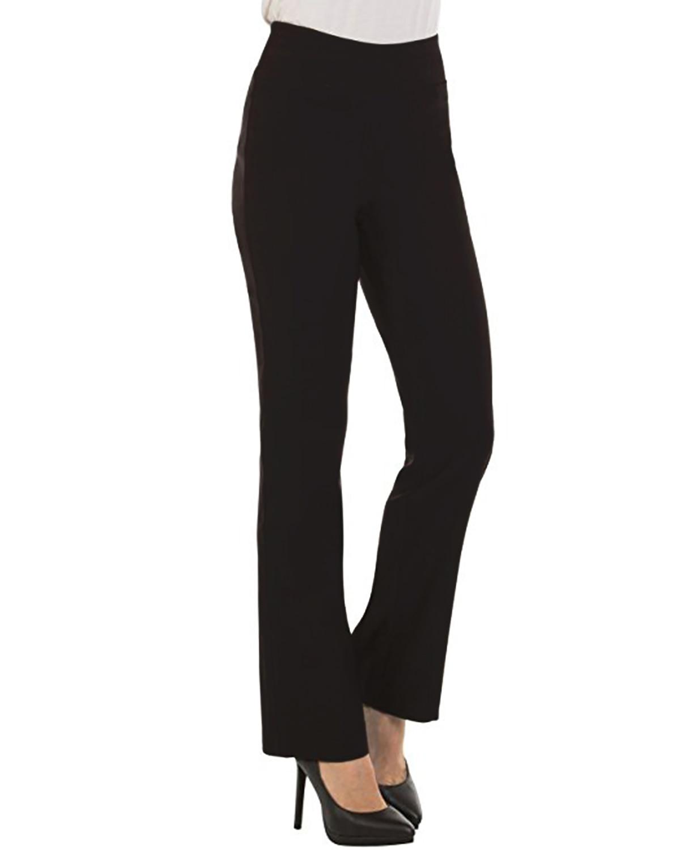 Women   Wide     Leg     Pants   Work Office Zipper   Pants   High Waist Ladies Casual Formal Strech Trousers Bottoms Long Straight   Pants   S-2XL