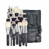 YAVAY MASTER 32PCS Makeup Brushes Set Professional Cosmetic Brushes Premium Soft Natural Hair With Luxury PU