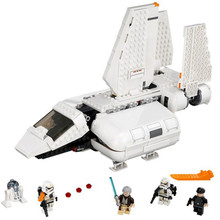 In stock 05147 Star plan wars series The Imperial Landing Craft Model Building Blocks Kids DIY Toys Christmas gifts with 75221 цена