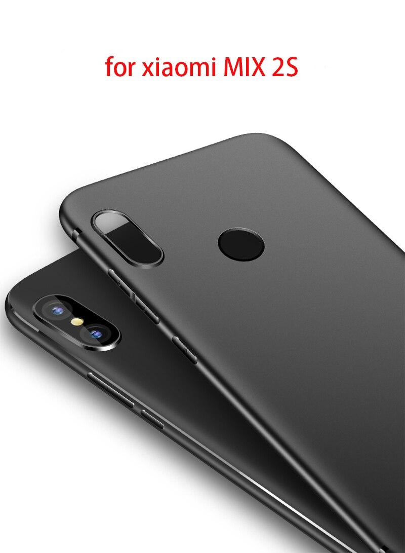 Узкий задний защиты кожи ультра тонкий чехол для телефона Для Сяо mi X 2 S Для Сяо mi mi x2 mi x 2 mi 6 Примечание 3 mi 5X Max 2 6X8