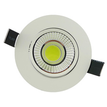 Round COB LED Downlight 5W 10W 20W led spotlight Down light spot led light recessed Dimmable led lights for home Lighting