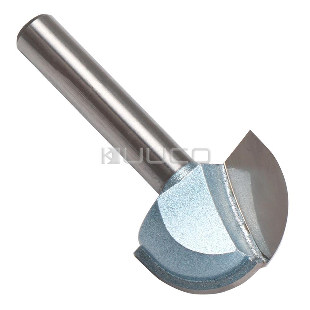5 PCS LOT Carbide Tools Round Bit Milling Cutter CNC Tools for PVC MDF Acrylic Wood