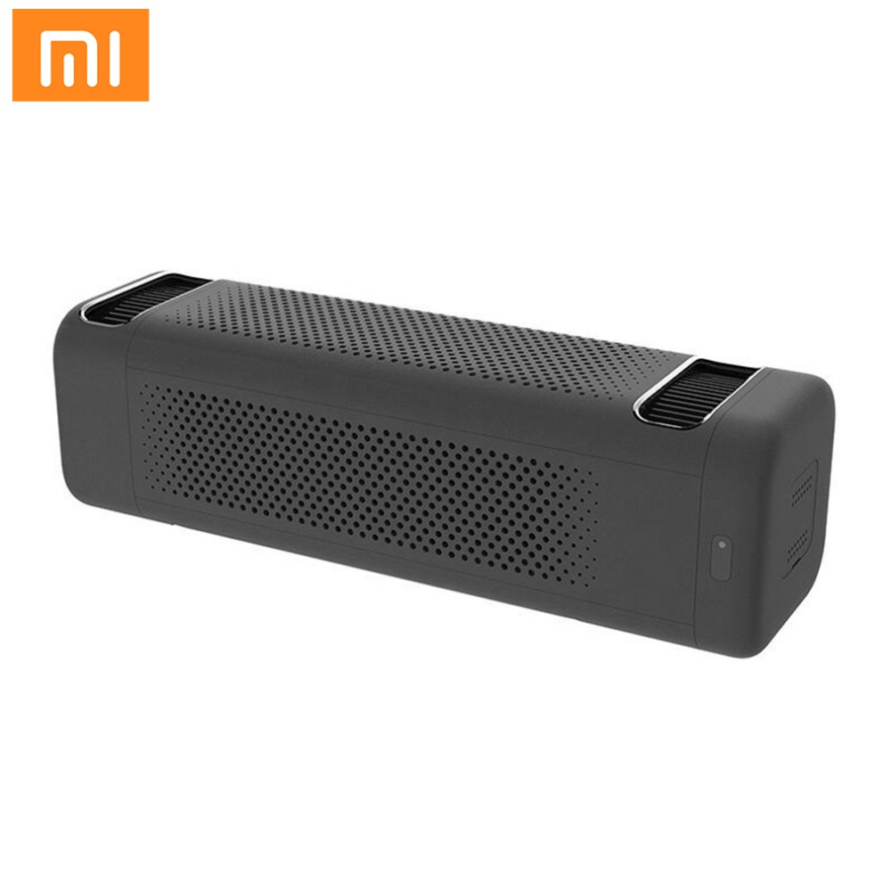 Mi Xiaomi Car Air Purifier Double Fans Purifying PM 2.5 Cleaning Haze for Car Air Cleaning Purifiers Household Smart Cleaner Gif xiaomi mi smart air purifier 2nd gen hepa home air cleaner app control