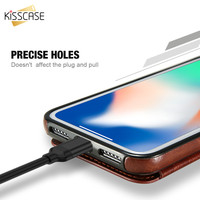 Retro PU Leather Case For iPhone X ulti Card Holders Case Cover 2