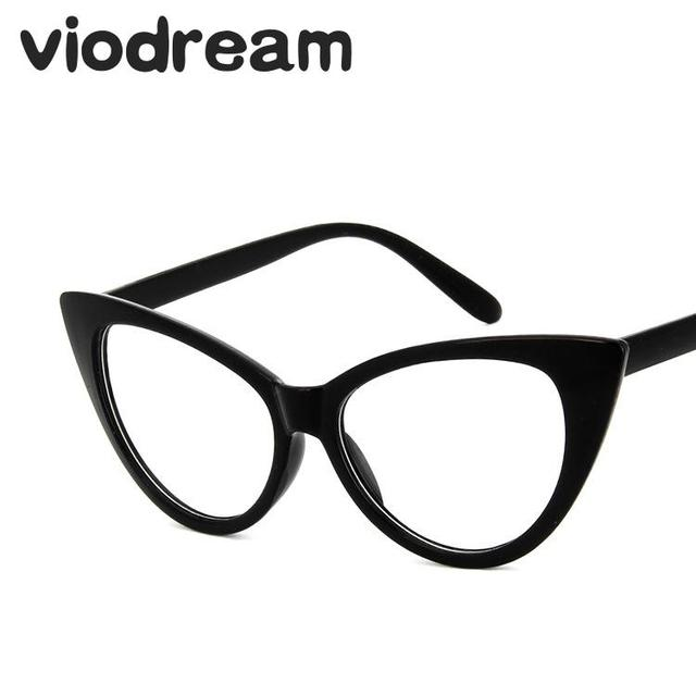 3bd1b8f564d Viodream New Retro Cat Eye Glasses Frame Fashion Myopia Prescription Eyewear  Eyeglass Frames Oculos De Grau