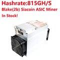 32856663556 - ¡Bitmain Antminer usado A3 815G Blake 2b algoritmo Siacoin minadora de máquina minera sin fuente de alimentación en Stock!