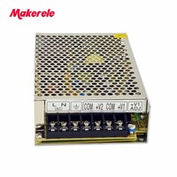 5V 7A 12V 3A two outputs switching power supply AC TO DC NED-75A 75W Dual output SMPS from maker electric china
