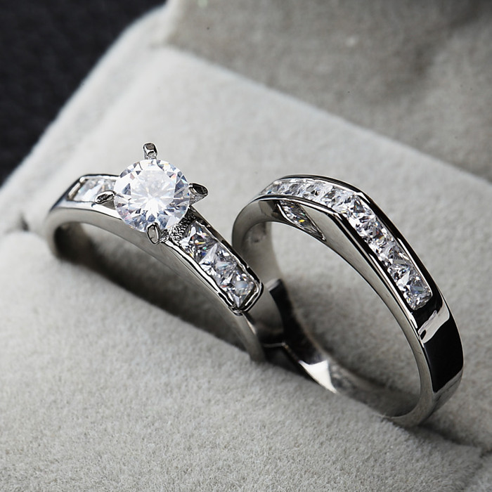 Clearance Sale Couple Brand Rings-in Rings from Jewelry ...