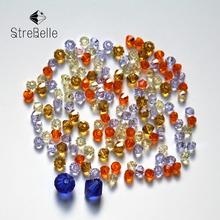 400pcs/Bag Grade AAA 3mm 5301 Crystal Bicone Beads Jewelry Making Cloth Accessory Wholesale AAA1 16Fa 30 Color For Your Choice