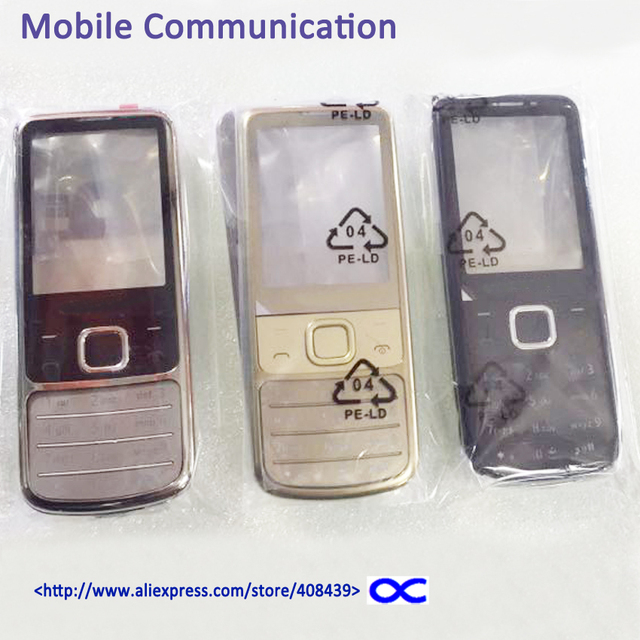 Hot 6700 Middle frame full housing For Nokia 6700 Classic 6700C Middle Plate Battery Cover with Logo
