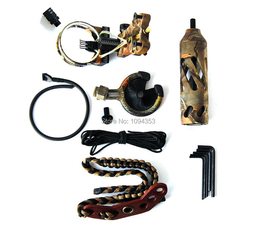 Elite Camo Upgrade Accessory Kit Compound Bow Archery Hunting Arrow Rest Sight sport elite se 2450