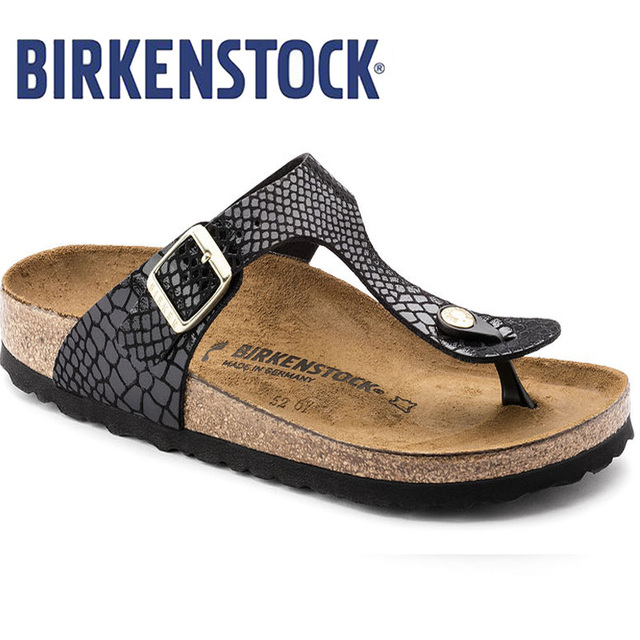 2d9945406fc BIRKENSTOCK Women Flip Flop Summer Beach Slippers Male Flats Sandals  Outdoor Beach Shoes Flip Flops Men Leather BIRKENSTOCK EVA