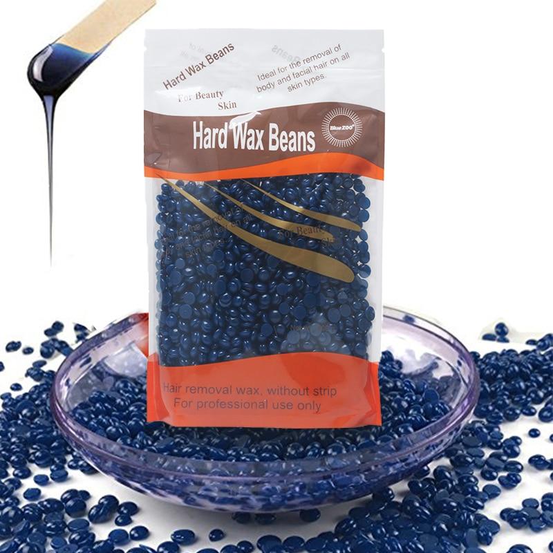 100g No Strip Depilatory Hot Film Pearl Hard Wax Bean Pellet Waxing Bikini Hair Removal Beans Brazilian Granules More Colors