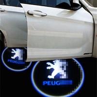 Car Door Light For Peugeot LOGO Projection Automobiles External For 308SW 308CC 308 408 508 3008