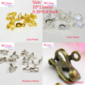 Free Nickle Gold/Silver/Rhodium/Bronze Plated Earring/Ear Clips/Hooks DIY/Making Jewelry Earring Findings/Accessories