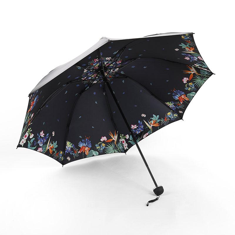 зонт женский Ветрозащитный Складной зонт от солнца Двойной Слой зонты зонтик дождь женщины 14 цветов Поставки