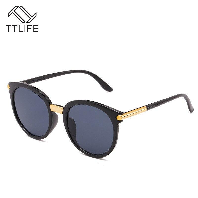 TTLIFE 2019 New Sunglasses Women Driving Mirrors Vintage For Reflective Flat Lens Sun Glasses Female Oculos Uv400 YJHH0175