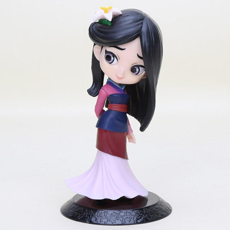 Model-Collection Princess-Figure-Toys Action-Figure Mulan Q-Posket PVC 11cm