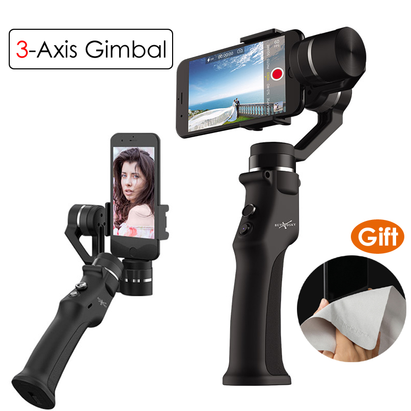 beyondsky eyemind smartphone handheld gimbal 3 axis stabilizer for iphone 8 x xiaomi samsung action camera vs zhiyun smooth q Beyondsky Eyemind Smartphone Handheld Gimbal 3-Axis Stabilizer for iPhone 8 X Xiaomi Samsung Action Camera VS Zhiyun Smooth Q