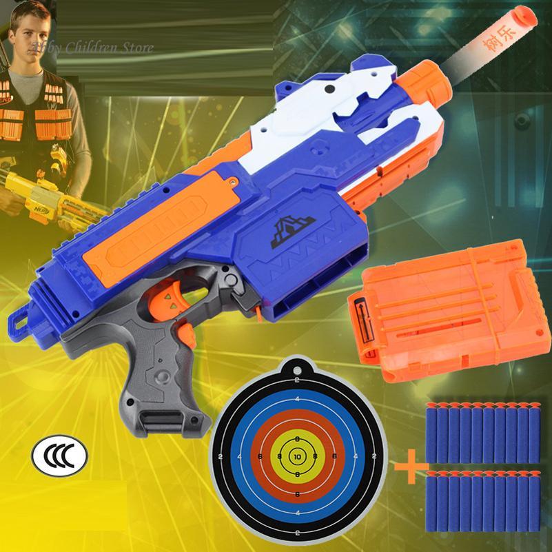 Soft Bullet font b Toy b font Gun Sniper Rifle Plastic font b Toy b font