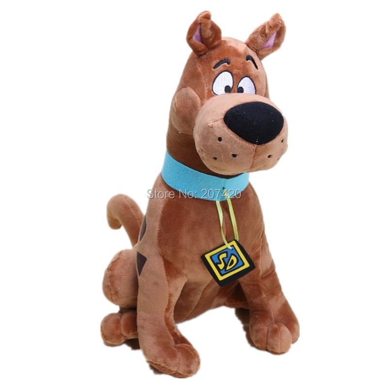13'' 35cm Cute Scooby Doo Dog Soft Stuffed Plush Toy Dolls Gift For Kids nooer kawaii soft dog plush toys for children kids cute baby appease fluffy dog stuffed plush doll kids toy friend gift