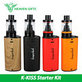 Original Kangertech K-KISS Kit 6300 mAh 4.5 ml Beso Tanque 510 Kkiss Mod batería w/ssocc bobina 0.2 bobina ohm llenado superior vs kanger subox