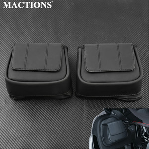Motorcycle Lower Vented Leg Fairing Glove Box Tool Bag For Harley Touring Street Glide Road Glide Electra Glide 2014-2017 2018(China)