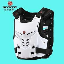 Véritable SCOYCO AM05 Moto Armure Motocross Poitrine Back Protector Armour Racing Vest Protection De Corps Garde VTT Gardes Course