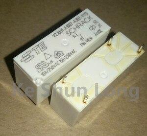Image 2 - Ücretsiz kargo lot (5 adet/grup) 100% Orijinal Yeni TE SCHRACK V23061 A1007 A302 X113 V23061 A1007 A302 4 PINS 8A 24VDC Güç Röleleri