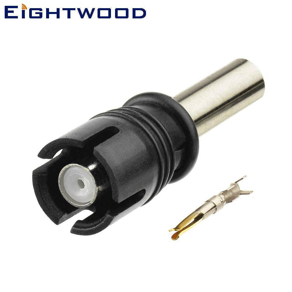 AM//FM Antenne RAST II Buchse auf RAKU RAST II Kabel 20cm für AUDI SEAT SKODA VW