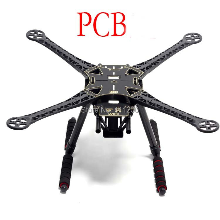 SK500 S500 Quadcopter Multicopter Frame Kit PCB Version with Carbon Fiber Landing Gear for FPV Quad Gopro Gimbal F450 Upgrade diy fpv mini drone qav210 zmr210 race quadcopter full carbon frame kit naze32 emax 2204ii kv2300 motor bl12a esc run with 4s