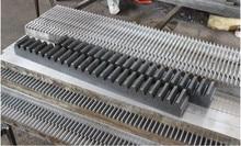 10pcs 1Mod 10x10x1500mm spur Gear rack right teeth Gear rack Precision cnc rack (straight teeth) Toothed rack цена