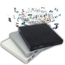 USB 2.0 External DVD Combo CD-RW Burner Drive CD DVD ROM For PC Computer Laptop Mobile External Drive Drop Shipping