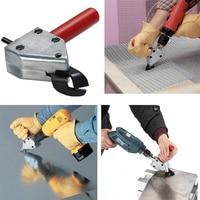 Nibble Metal Cutting Sheet Nibbler Saw Cutter Tool Electric Drill Scissors Saw Cutter Tool Scissors