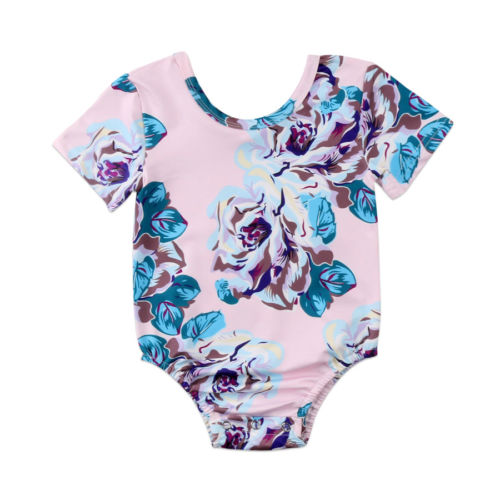 Newborn Baby Girls Floral Ruffle   Romper   Jumpsuit Playsuit Outfits Clothes Summer