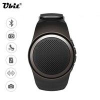 Ubit B20 Smart Watch With Self-timer Anti-Lost Alarm Music Sport Mini Bluetooth Speaker Support TF Card FM Radio AUX Hands-free