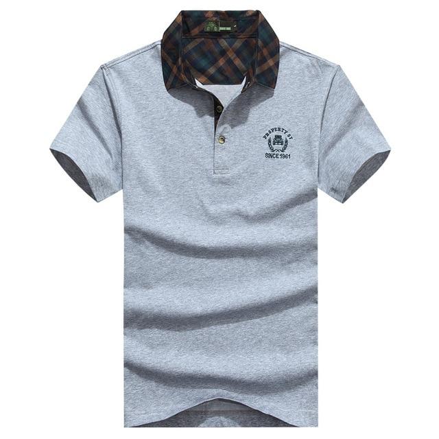 dfc829b276 AFS JEEP homens do estilo Da Marca de verão camisa gola polo dos homens  camisas pólo