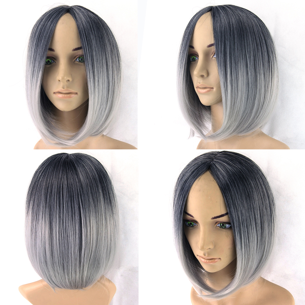 how to add grey highlights to white wig