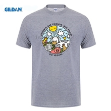 Animals Are Friends, Not Food! Go Vegan! Men's T-Shirt