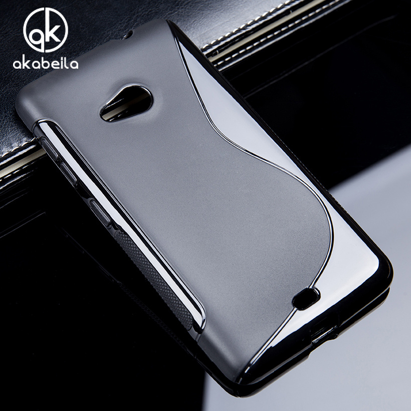 AKABEILA Soft Silicon Tpu Phone Cover Case For Micr