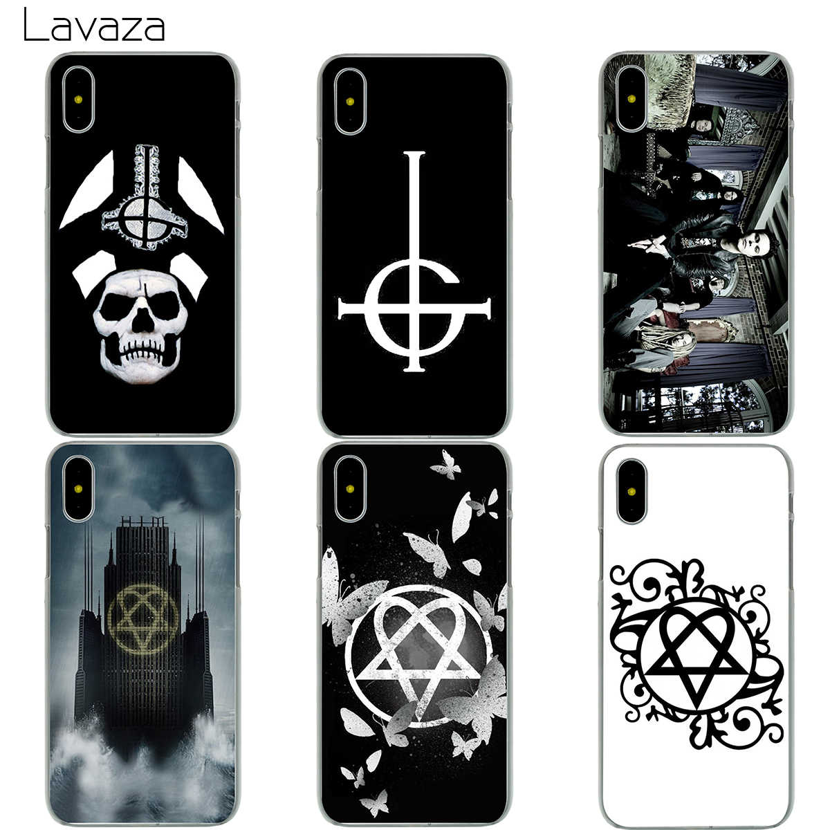 Lavaza Ghost HIM Case for iPhone X 8 7 6 6S Plus 5 5S SE
