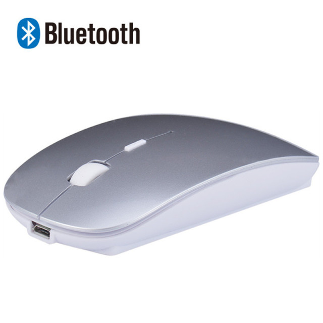 262be33cfba Rechargeable Bluetooth Wireless Slim Mouse Mice for Mac Apple Laptop Macbook  Notebook Desktop Tablet Support Windows 10 8 7