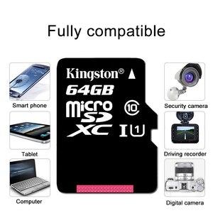 Image 5 - كينغستون مايكرو SD بطاقة ذاكرة صغيرة 16GB 32GB 64GB 128GB MicroSDHC UHS I SD/TF قراءة بطاقة محول بطاقة فلاش للهواتف الذكية